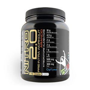 Proteine pre allenamento NITRO 2.0 gusto arancia