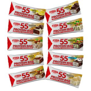 55 protein bar why sport 55 grammi vari gusti disponibili