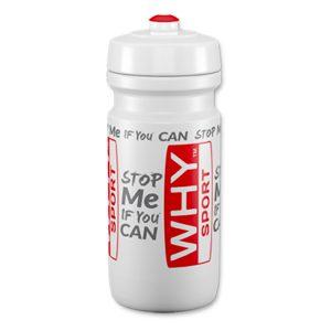 Borraccia Why Sport 600ml prodotta dall'azienda italiana di riferimento mondiale nel campo degli accessori per sportivi. Completamente biodegradabile e BPA Free.