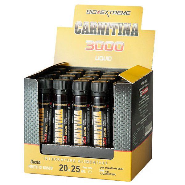 Carnitina 4000 Bio Extreme box 20 fiale