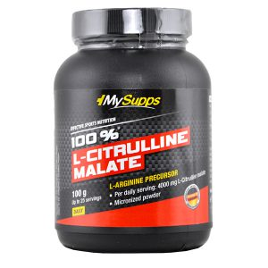 Citrulline malate My Supp