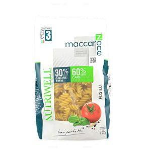 Maccarozone fusilli Nutriwell 250 grammi
