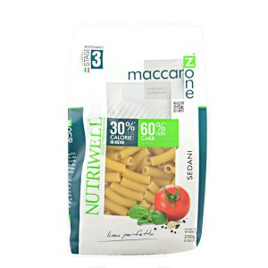 Maccarozone sedani Nutriwell 250 grammi