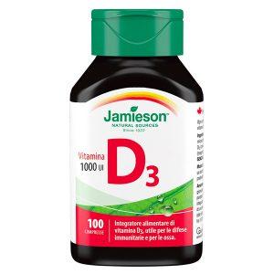 Vitamina D3 1000ui Jamieson