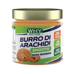 Burro di arachidi Smooth Why Nature 350g