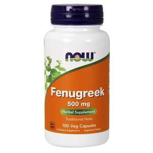Fenugreek Now Food 500 mg