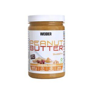Peanuts Butter Smooth 400 gr Weider è la soluzione per tutti coloro cerchino una crema spalmabile diversa, salutare e dal gusto delizioso.